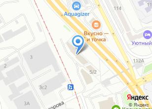 Компания «К5» на карте