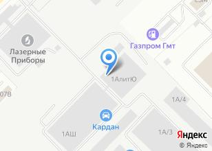 Компания «Аэромир» на карте
