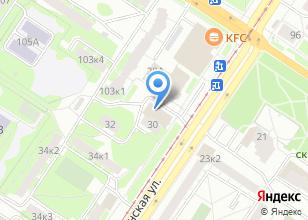 Компания «Информационная сеть» на карте