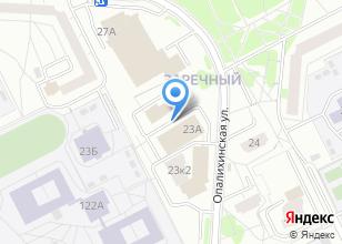 Компания «Верх-Исетский» на карте