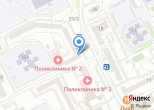 Компания «Ткани» на карте