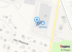 Компания «Новакорм» на карте