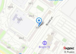 Компания «Мадера» на карте
