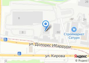 Компания «ТэоХим Урал торгово-монтажная компания» на карте