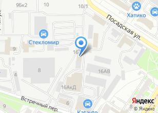 Компания «ПромИнСити» на карте