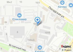 Компания «Дача-маркет» на карте