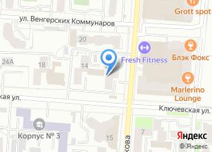 Компания «Комтехстрой» на карте