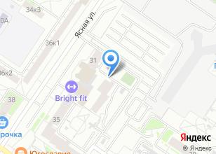 Компания «АТОНСТРОЙ» на карте