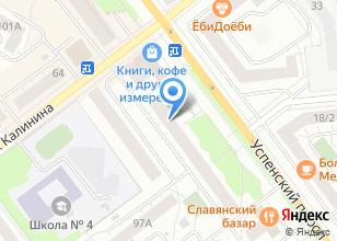 Компания «Букля» на карте