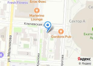 Компания «Электрик96» на карте