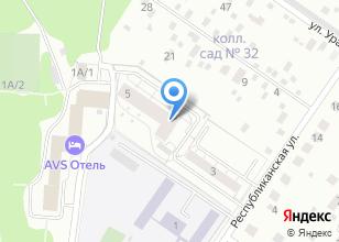 Компания «Строящийся жилой дом по ул. Республиканская» на карте