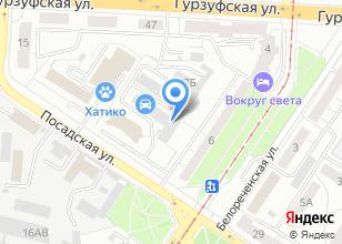 Компания «Сант» на карте