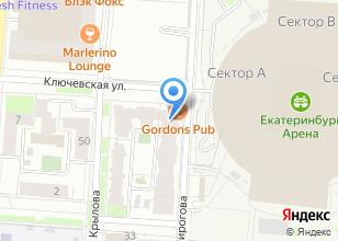 Компания «Навьен Урал» на карте