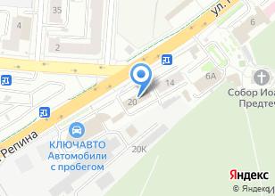 Компания «Уралпром-Еикс» на карте