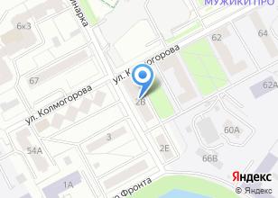 Компания «Дог Сервис» на карте