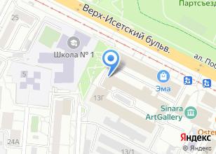 Компания «Салон-магазин матрасов и кованых кроватей» на карте