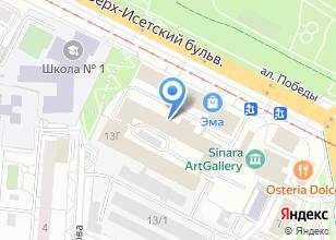 Компания «Дверона» на карте