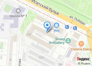 Компания «БМ Спорт» на карте