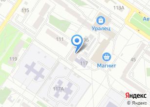 Компания «Газоны Прикамья» на карте