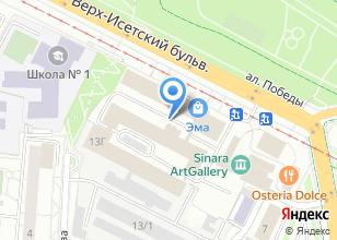 Компания «ЭМА Сруб» на карте