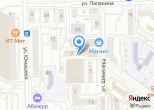 Компания «Строящийся жилой дом по ул. Шевелева» на карте