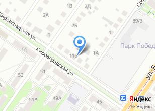 Компания «Алла» на карте
