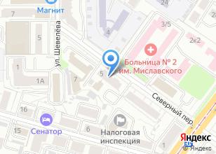 Компания «Декор-Сервис» на карте