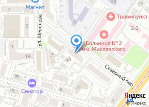Компания «ДекориЯ» на карте