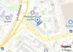 Компания «Витраж М1» на карте