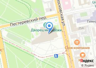 Компания «Уральские потолки» на карте
