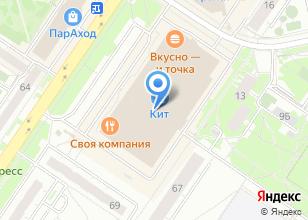 Компания «ВЕЛОТРЕНАЖЕР РФ» на карте