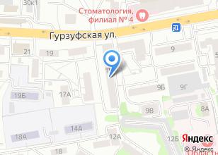 Компания «Уральский центр обследования и проектирования зданий и сооружений» на карте