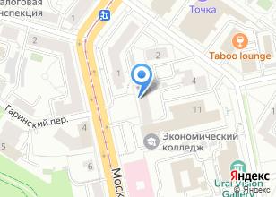 Компания «ПВК» на карте