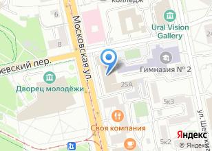 Компания «Сектор мобилизационной и специальной работы Администрации Верх-Исетского района» на карте