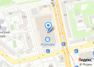 Компания «Заповедник» на карте
