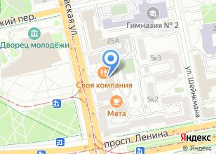 Компания «АС-лайнер» на карте