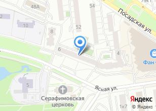 Компания «Топ-Арт» на карте