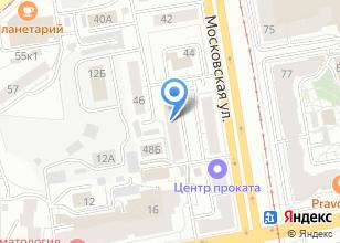 Компания «ФлайАудио» на карте