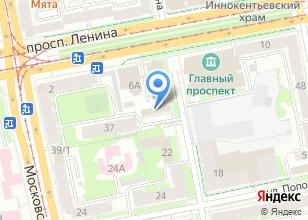 Компания «АБРИС-ЕКБ» на карте