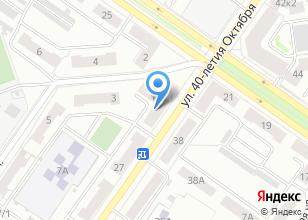 Компания «ПРОСТОР» на карте