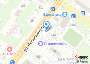 Компания «ГЕЛЬВЕТИКА-УРАЛ» на карте