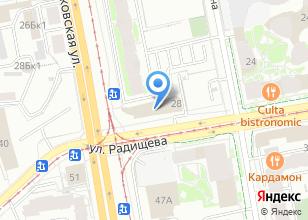 Компания «СТА Групп» на карте