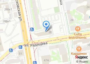 Компания «УралНефтьСервис» на карте