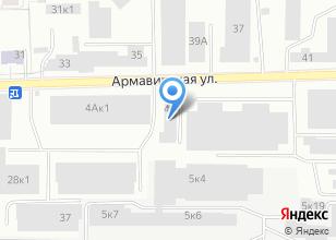 Компания «Альбини» на карте