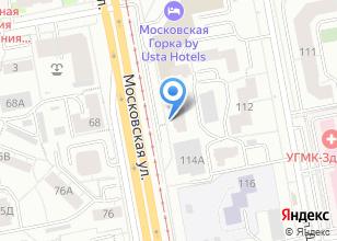 Компания «СтройЛидер96» на карте