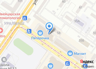 Компания «Двери Лэнд» на карте