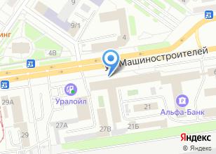 Компания «УралАвтоБаза» на карте