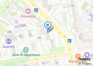 Компания «Красная Орхидея» на карте