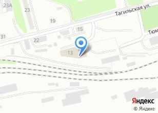 Компания «Строящееся административное здание по ул. Тагильская» на карте