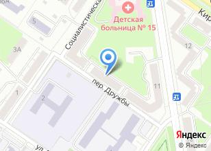Компания «Переезд+» на карте